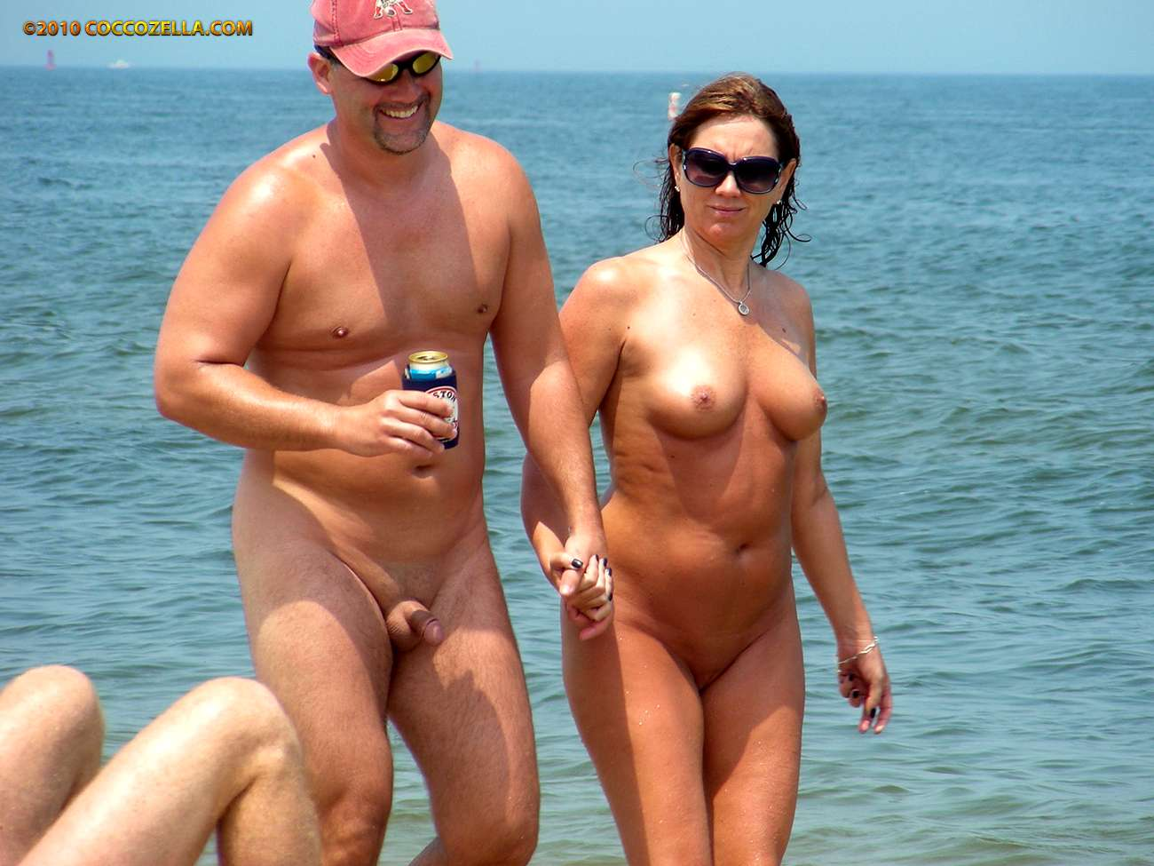 naked couples at beach