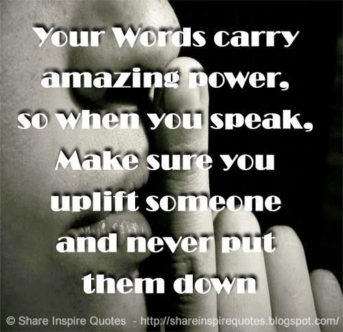 Your So Amazing: Your Words Carry Amazing Power, So When You Speak, Make