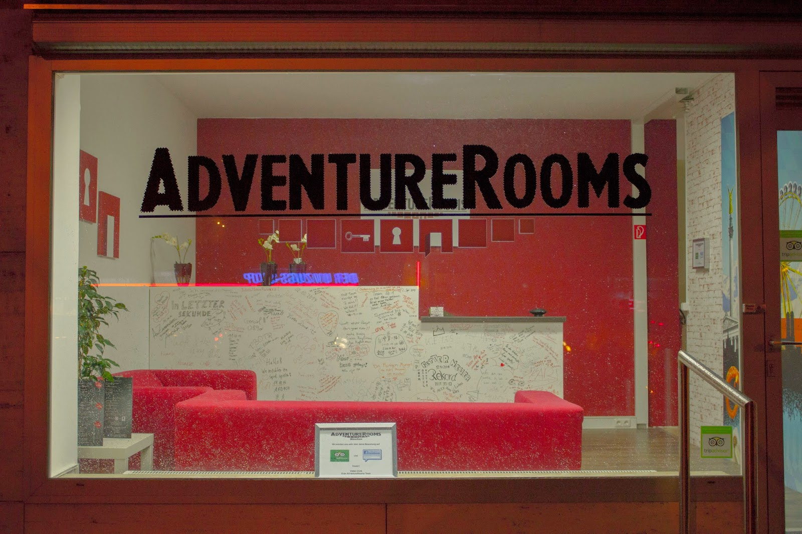 Adventure Rooms Aussenansicht