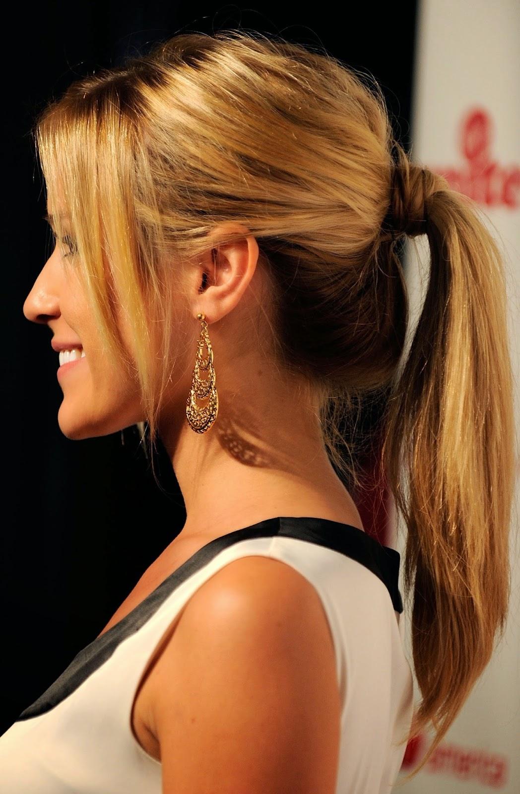 Ponytail Hair Style Idea Of Simple Hair Styles Treands