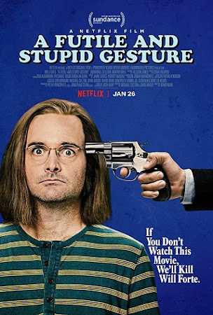 Watch Online A Futile and Stupid Gesture 2018 720P HD x264 Free Download Via High Speed One Click Direct Single Links At WorldFree4u.Com