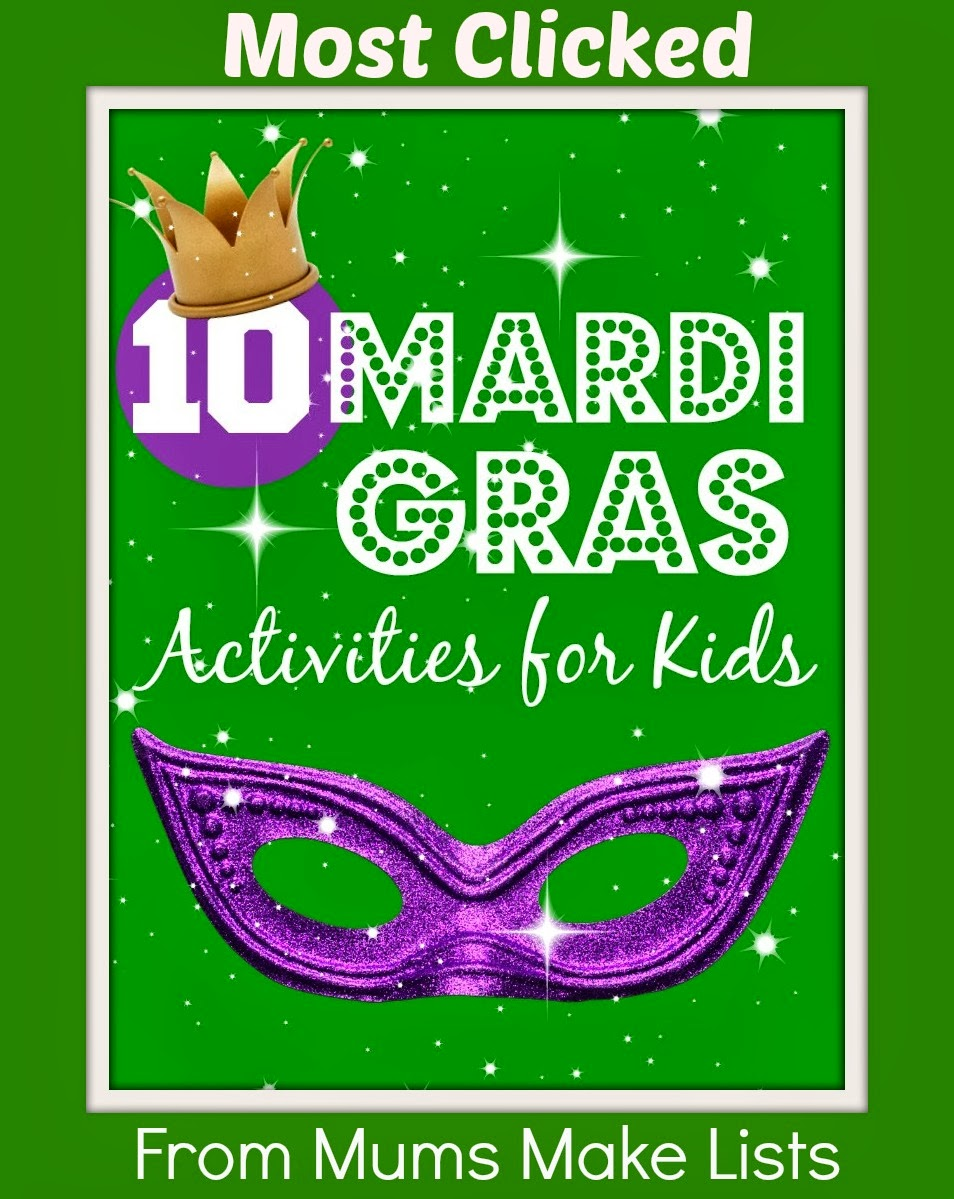 http://mumsmakelists.blogspot.co.uk/2014/02/mardi-gras-activities-for-kids.html