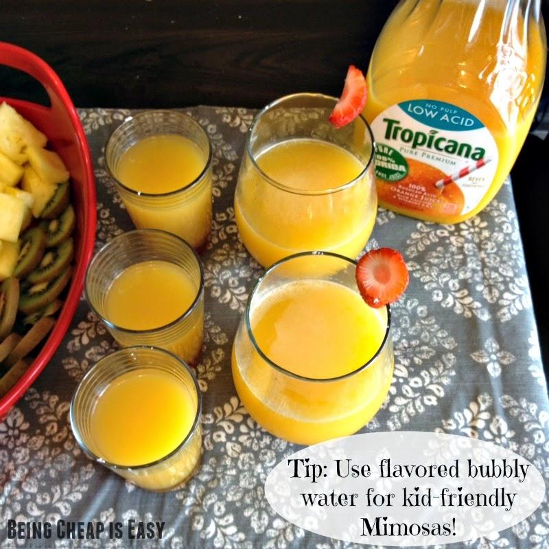 Mimosas, Alcohol-Free Mimosa, Special Occasion drinks, Orange Juice