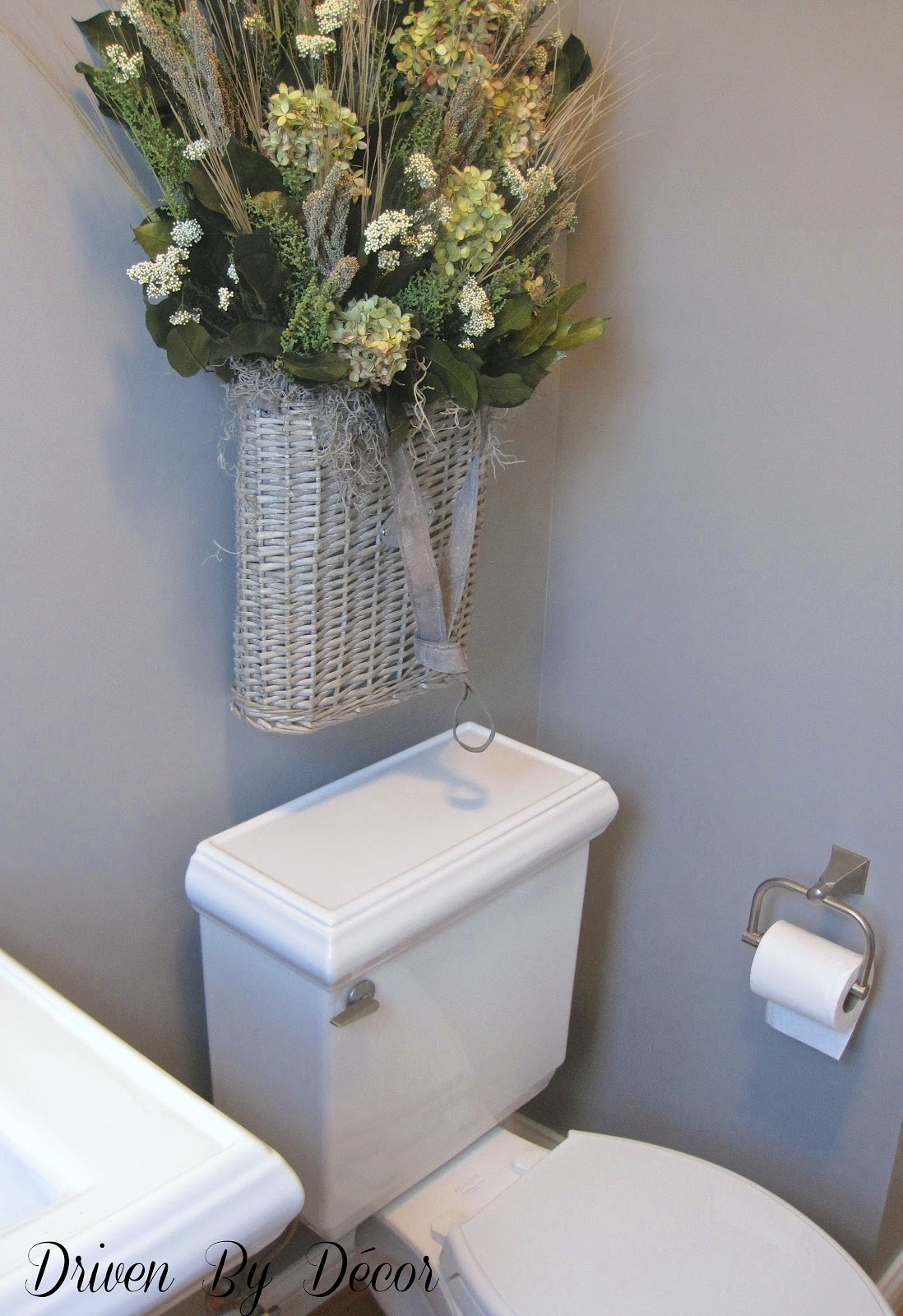 What 39 s over your toilet driven by decor Over the toilet design ideas