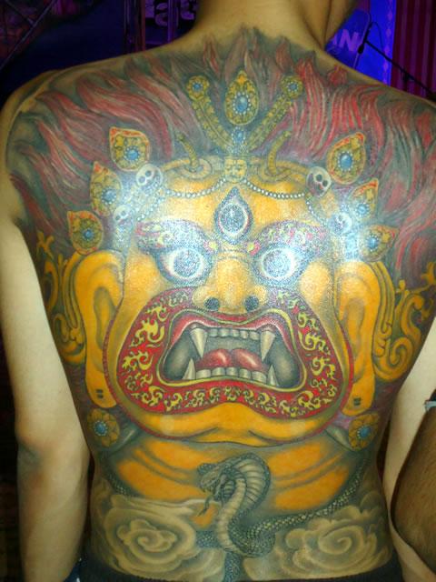 funky buddha tattoo thamel kathmandu 2013 nepal tattoo convention. Black Bedroom Furniture Sets. Home Design Ideas