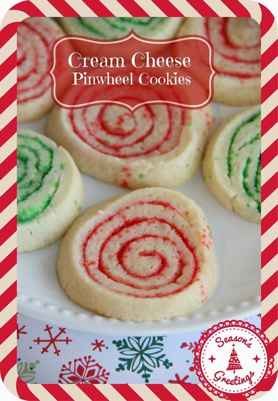 Cream Cheese Christmas Pinwheel Cookies Diary Of A Recipe Collector