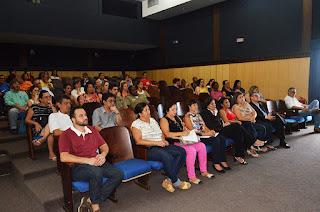 Servidores da Prefeitura assistem palestra sobre assédio moral no trabalho