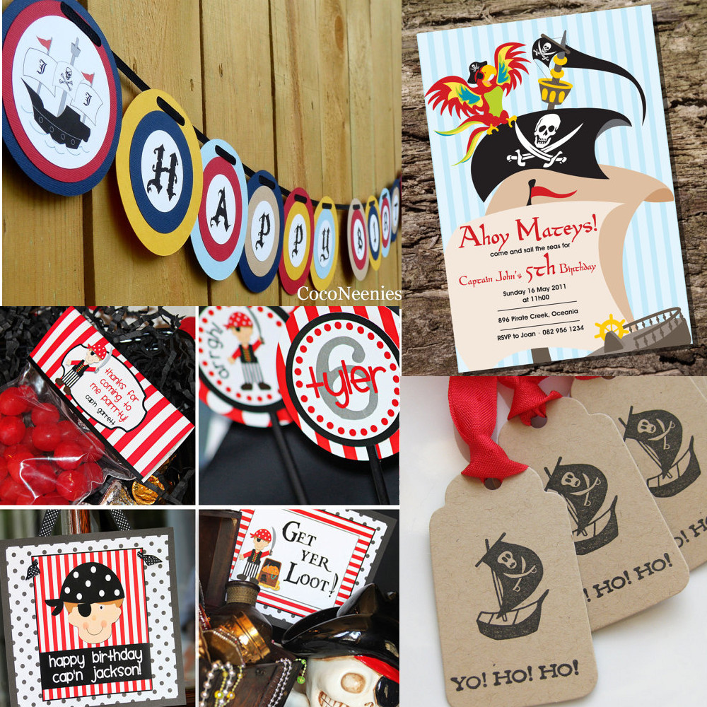 Top Kids Pirate Theme Birthday Party Ideas 1000 x 1000 · 419 kB · jpeg