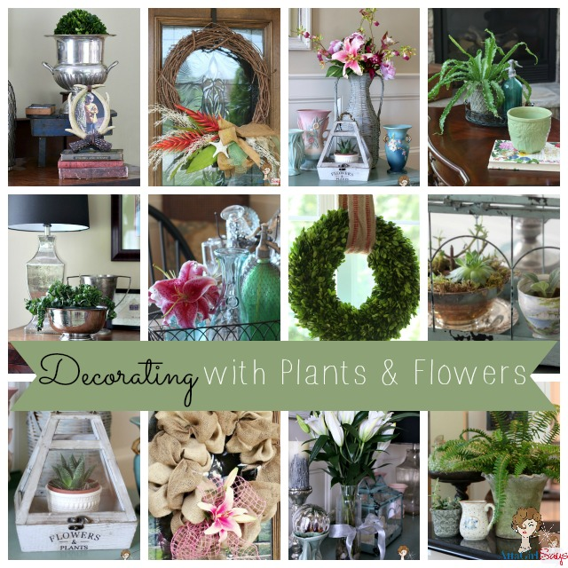 decorating with plants flowers home decor