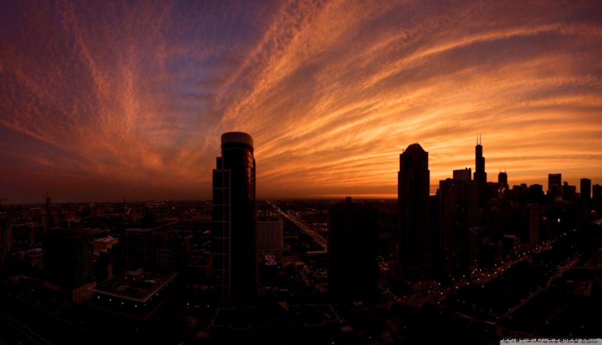 city sunset wallpaper 7106 - photo #25