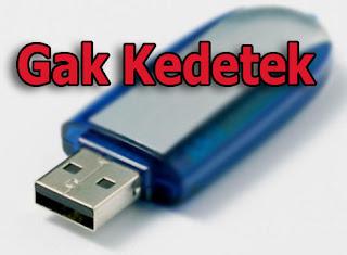 flash disk tidak terdeteksi