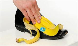 فوائد قشر الموز لتلميع الاحذية