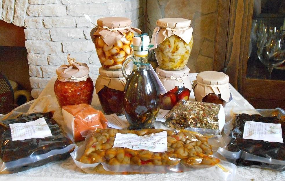 tipici mediterranei: prodotti calabresi doc