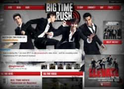 Big Time Rush Official Website