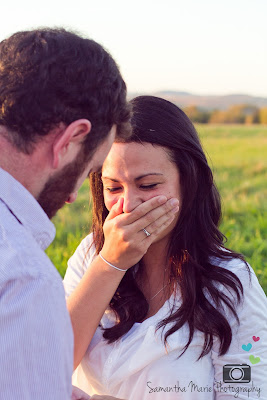 crying during proposal