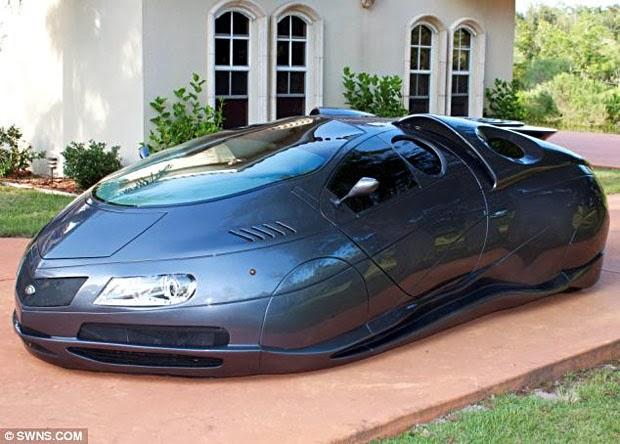 Canggih! Mobil Masa Depan, Tanpa Mesin dan Transmisi Gigi