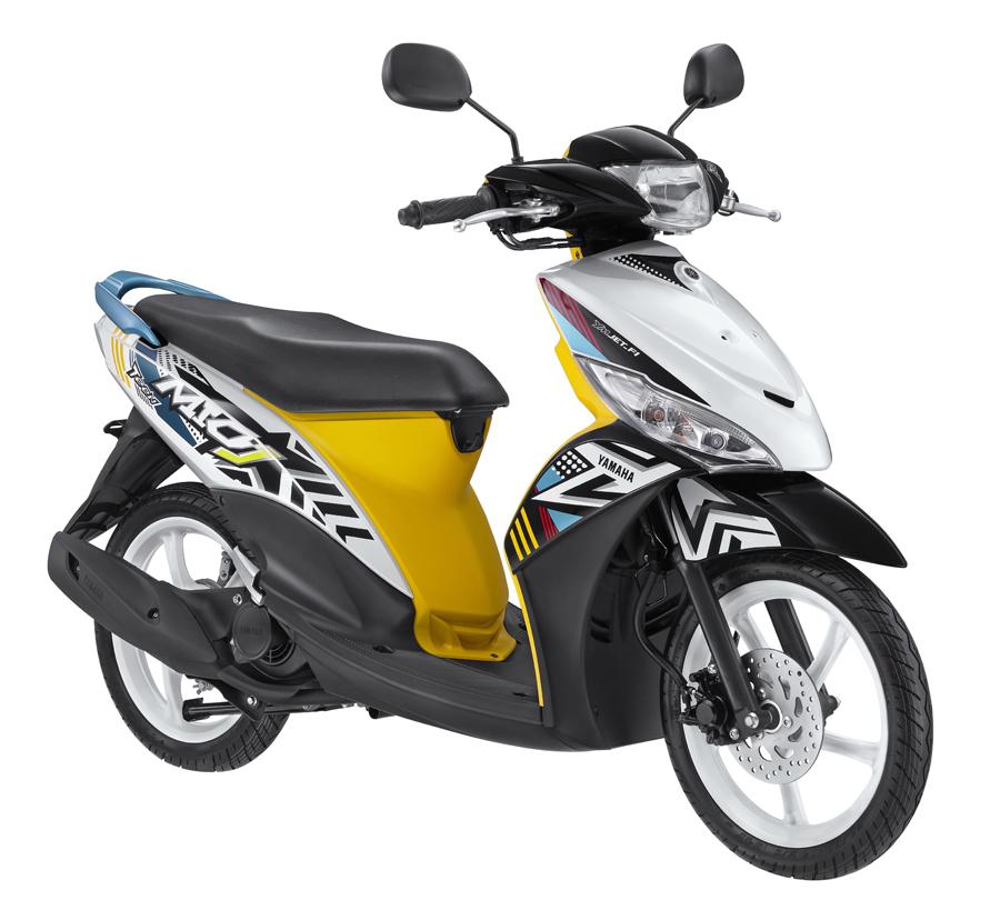 Tromol Yamaha Scorpio Ori Hitam