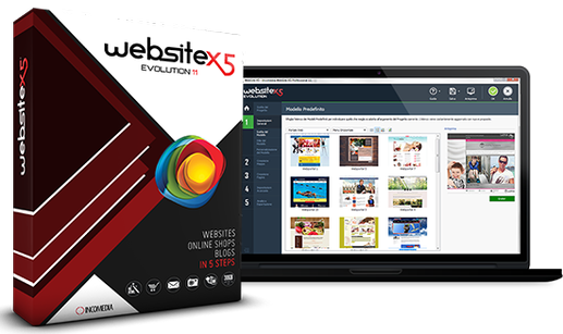 WebSite X5 Evolution/Professional v10.1.4.45 Multilenguaje ...
