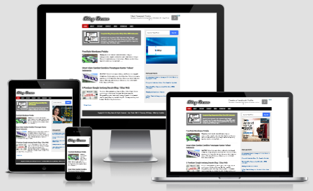 Blog Demo Blogger Theme - SEO Friendly, Fast Loads, Responsive