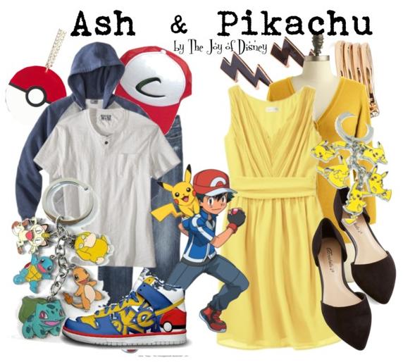 Ash and Pikachu, Pokemon Cosplay