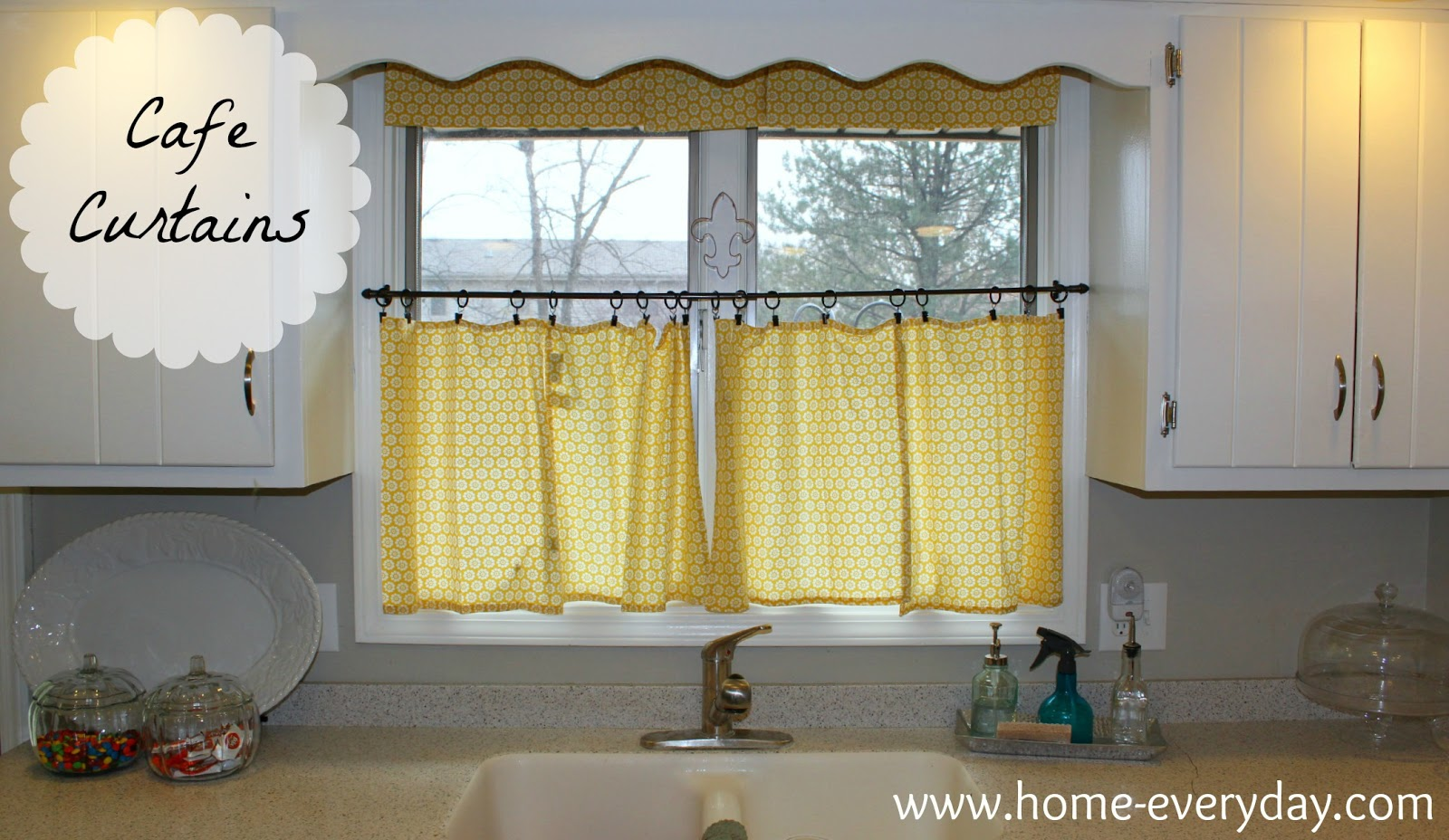 Election hangover quick fix curtains home everyday for Cafe curtains for kitchen ideas