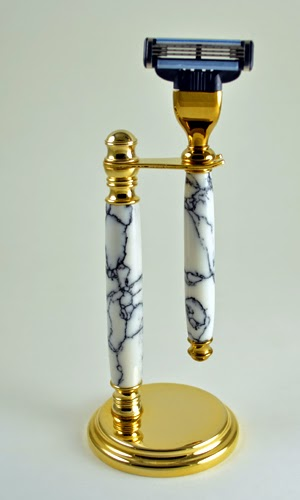 Deluxe Razor and Stand - Custom work by Turn of the Century