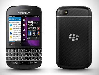 Blackberry Q10 Hadir di Indonesia