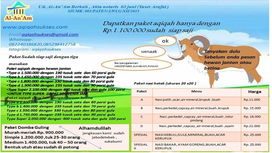 Aqiqah Bogor | Rumah Aqiqah Bogor |Layanan Aqiqah Bogor | Aqiqah Al-An'am|Aqiqah Depok