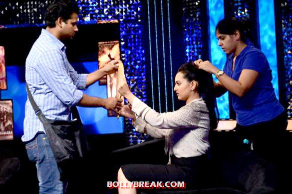 Sonakshi Sinha - Sonakshi Sinha on 'The Front Row' show