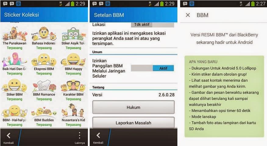 BBM Multi Pin(BBM2+BBM3+BBM4) Kloning versi 2.6.0.28 Official Free Stiker