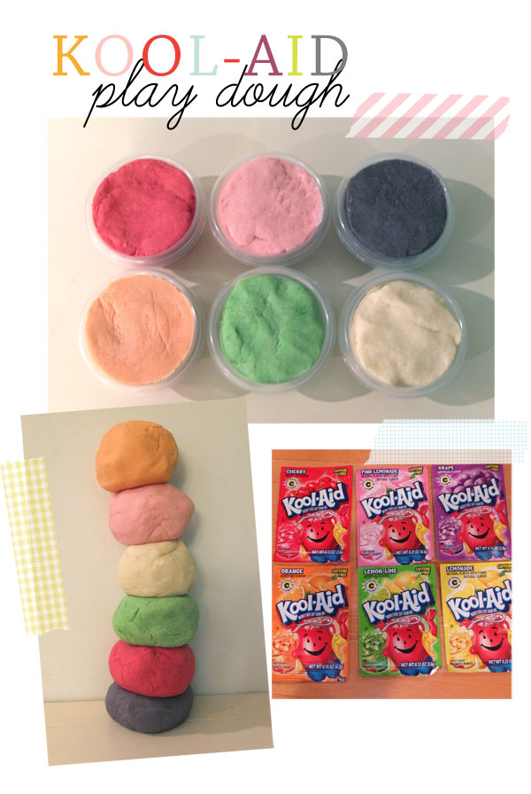 kool-aid play dough