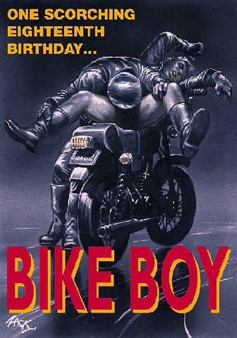 Bike Boy by Zack