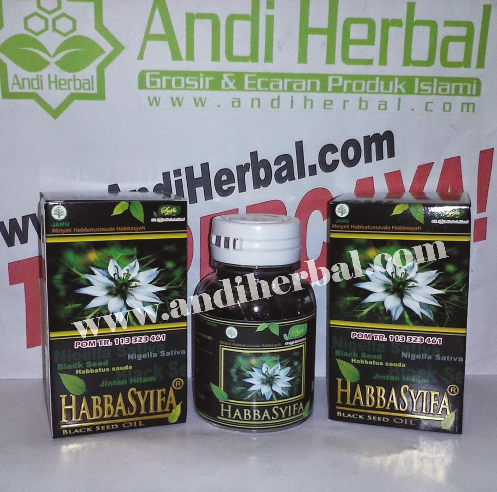 Minyak Habbatussauda Habbasyifa Black Seed Oil 90 kaps Andiherbal.com
