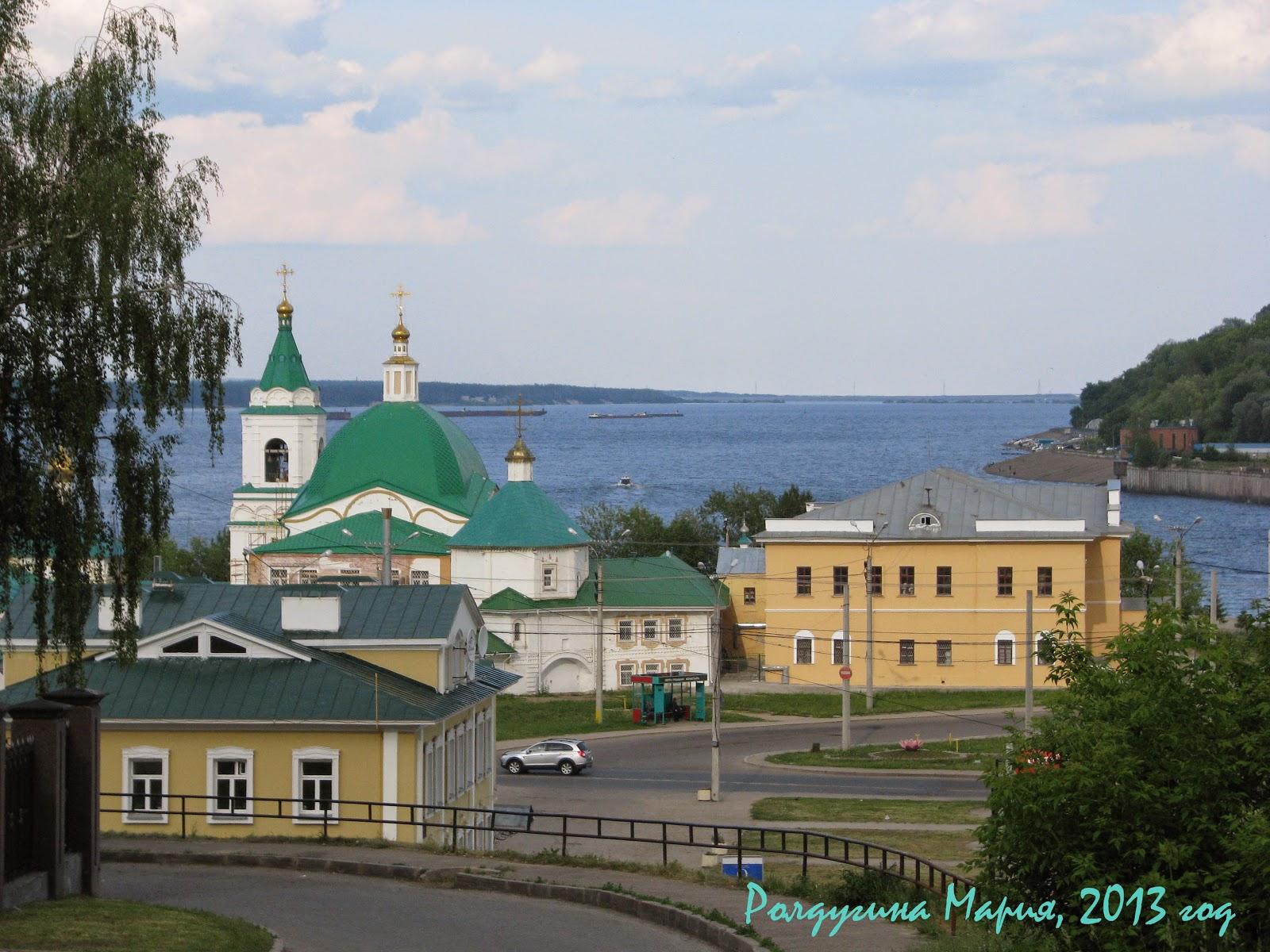 Свято-Троицкий мужской монастырь Чебоксары фото