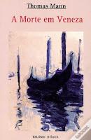 """Livro: """"Morte em Veneza"""" de Thomas Man"""