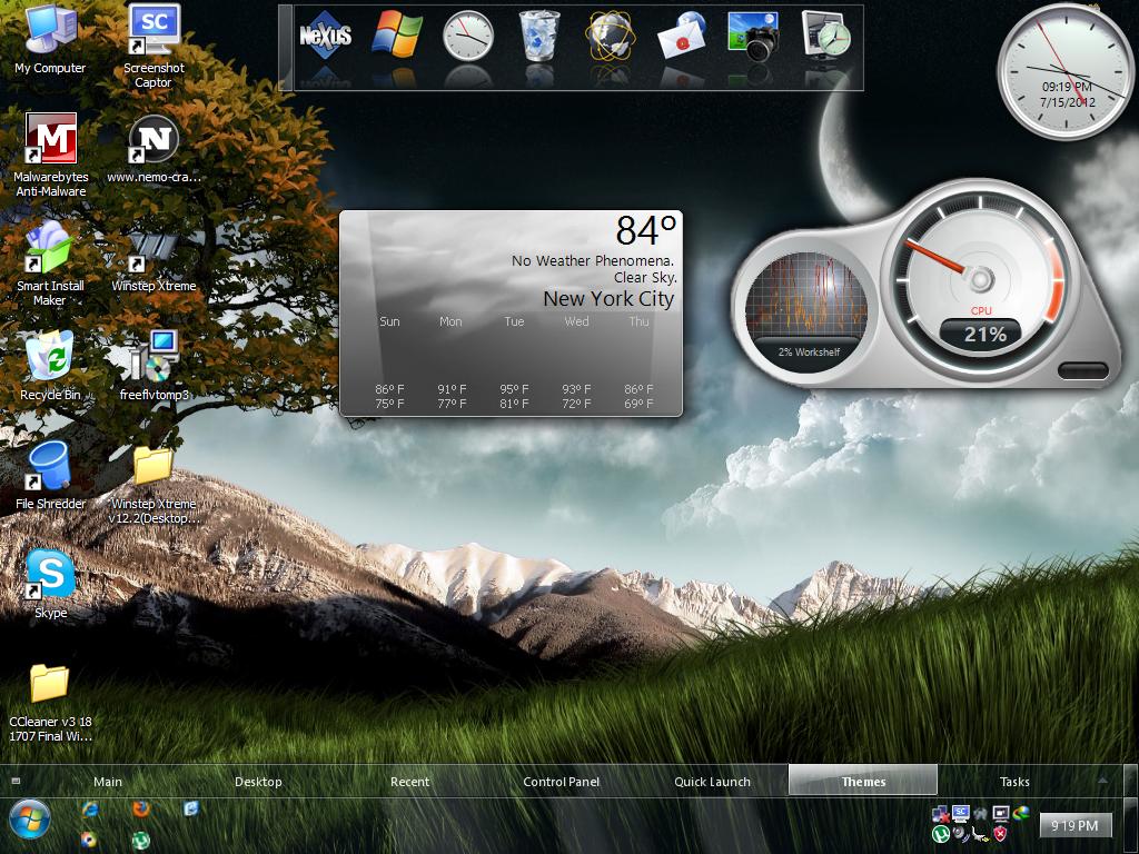 Download winstep nexus - advanced dock for windows