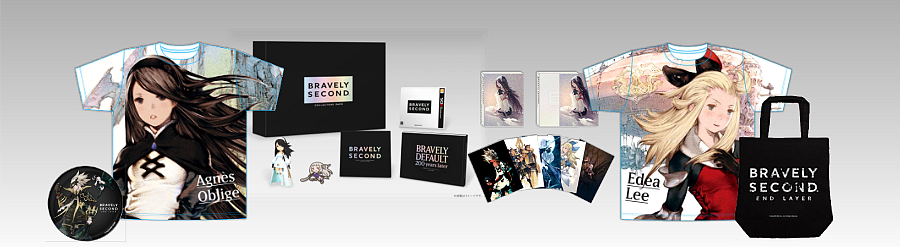 Bravely Default Bravely Second - SQUARE ENIX Limited Editions