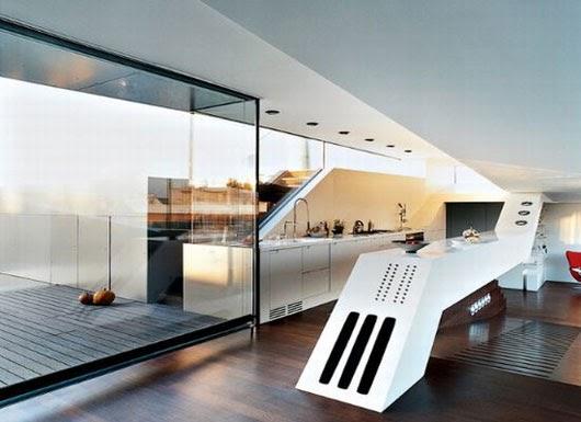 Penthouse in malta with modern interior design home for Modern home decor malta
