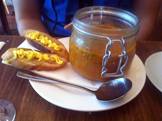Stitch and Bear - French fish soup at Camden Kitchen