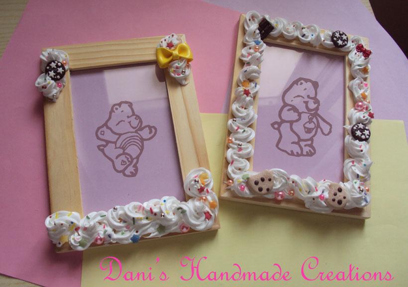 Dani 39 s handmade creations marzo 2012 for Cornici per foto in vetro