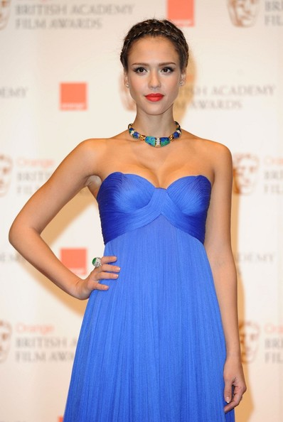 jessica alba 2011 blue dress. 2010 Jessica Alba 2011 Blue