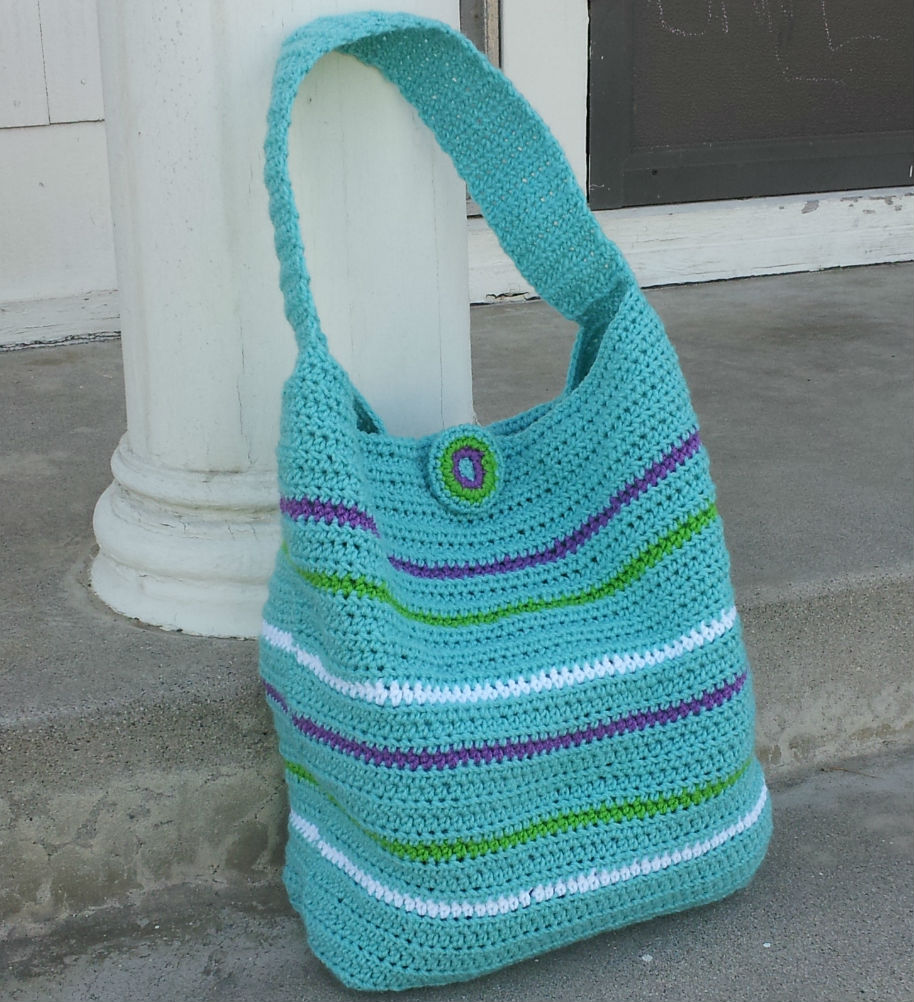 Free Crochet Bag : Crochet Dynamite: The London Crochet Bag