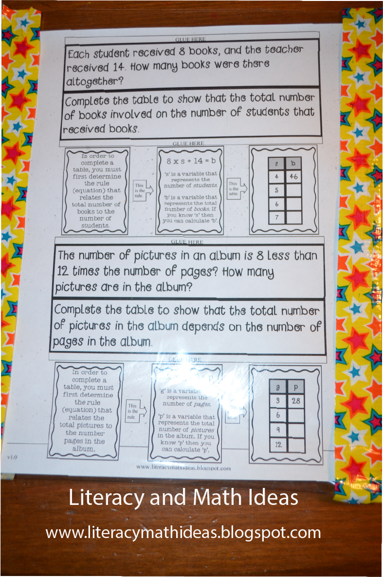 Literacy & Math Ideas: DIY Classroom: Plastic Worksheet Covers