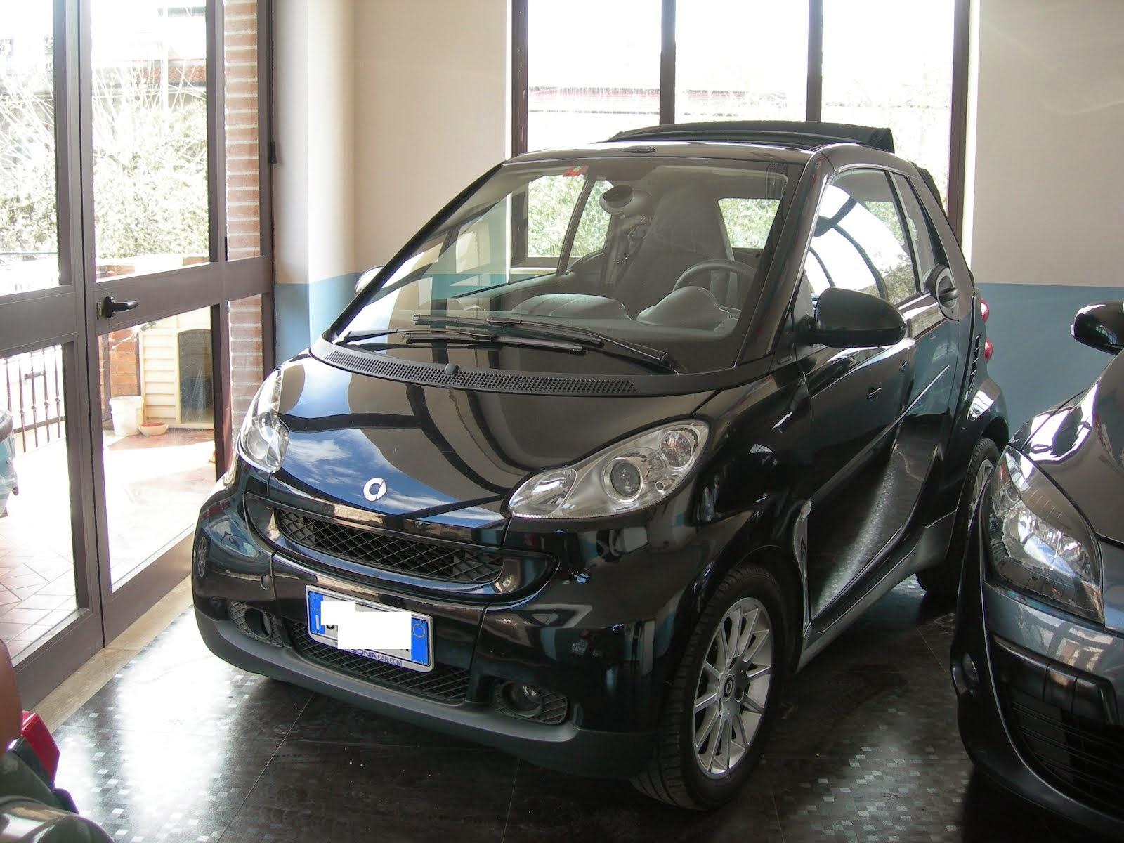 Smart Cabrio 800 CDI Anno 2008 colore Nera