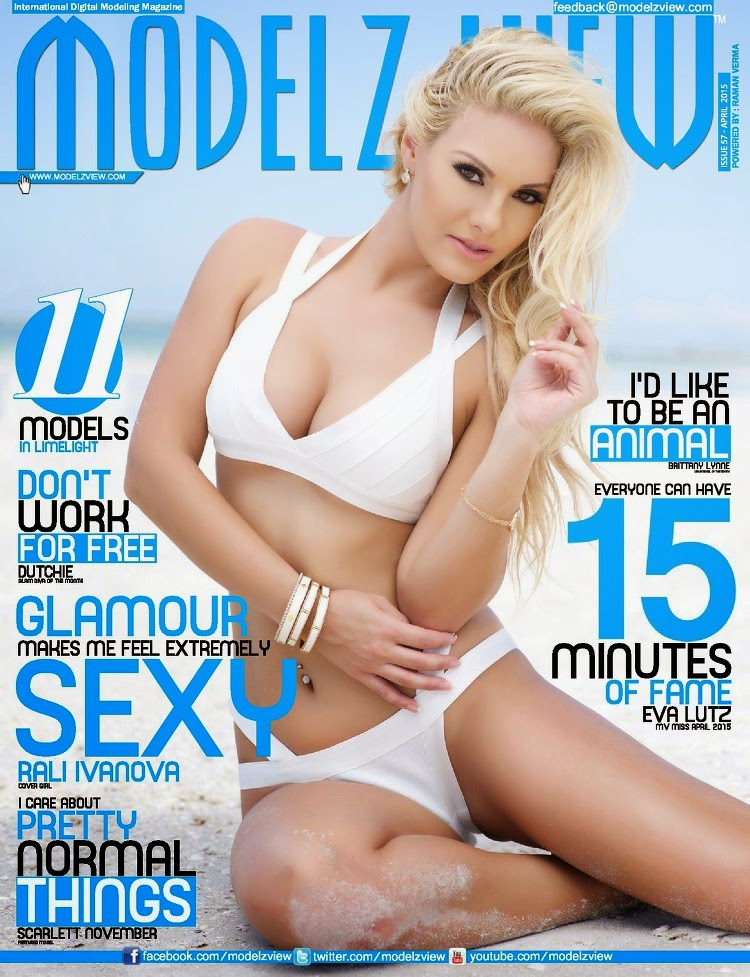 Rali Ivanova - Modelz View, April 2015