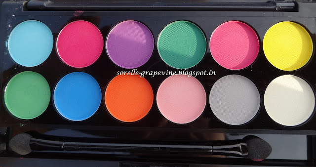 Sleek Makeup i-Divine Ultra Mattes V1 Brights Palette
