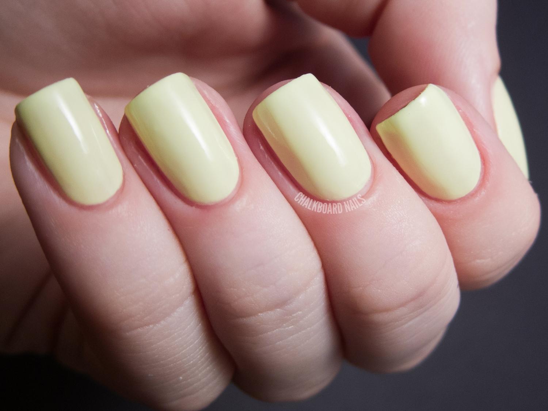 Serum No. 5 - Day Glow | Chalkboard Nails | Nail Art Blog