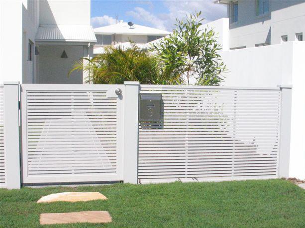 contoh pagar rumah sederhana  desain gambar furniture rumah minimalis