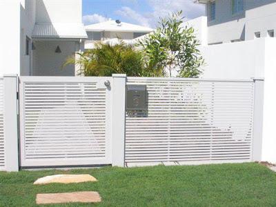 contoh pagar rumah sederhana - desain gambar furniture ...