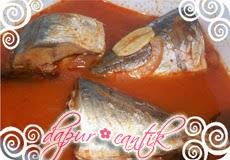 Gambar Masakan Asam Padeh Ikan Kembung Dapur Cantik